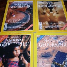 Coleccionismo de National Geographic: NATIONAL GEOGRAPHIC LOTE 4 REVISTAS 1998. Lote 31179392