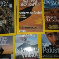 Coleccionismo de National Geographic: 6 NUMEROS DE NATIONAL GEOGRAPHIC-.. Lote 31304740