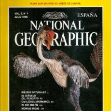 Coleccionismo de National Geographic: NATIONAL GEOGRAPHIC,,JULIO 98. Lote 32371543