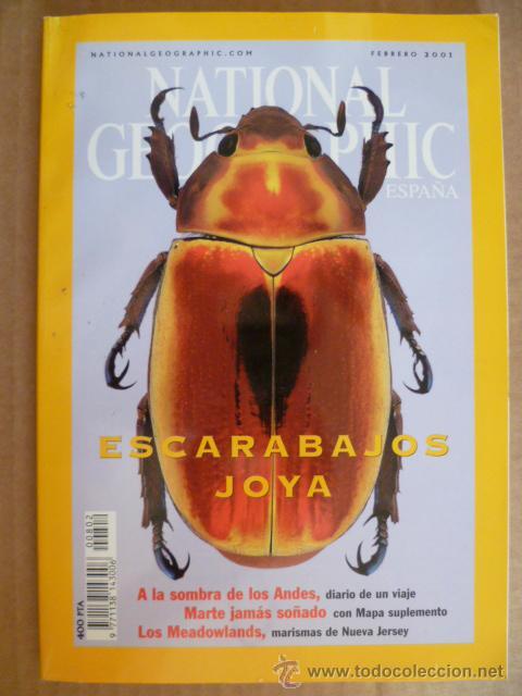 REVISTA: NATIONAL GEOGRAPHIC, FEBRERO 2001 (Coleccionismo - Revistas y Periódicos Modernos (a partir de 1.940) - Revista National Geographic)