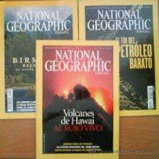 Coleccionismo de National Geographic: LOTE DIEZ EJEMPLARES NATIONAL GEOGRAPHIC. Lote 32553862