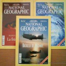 Coleccionismo de National Geographic: EXCELENTE LOTE DE DIEZ EJEMPLARES DEL NATIONAL GEOGRAPHIC. Lote 32554184