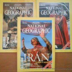 Coleccionismo de National Geographic: EXCELENTE LOTE DE OCHO EJEMPLARES DEL NATIONAL GEOGRAPHIC. Lote 32554264