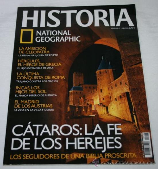 REVISTA HISTORIA DE NATIONAL GEOGRAPHIC - Nº 47 (Coleccionismo - Revistas y Periódicos Modernos (a partir de 1.940) - Revista National Geographic)