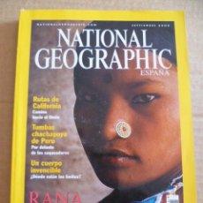 Coleccionismo de National Geographic: REVISTA: NATIONAL GEOGRAPHIC - SEPTIEMBRE 2000. Lote 33005778