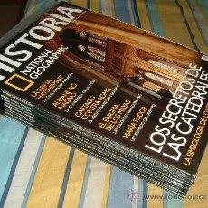 Coleccionismo de National Geographic: NATIONAL GEOGRAPHIC HISTORIA: REVISTAS DEL 31 AL 40 ( 10 REVISTAS ). Lote 34541117