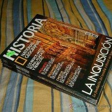 Coleccionismo de National Geographic: NATIONAL GEOGRAPHIC HISTORIA: REVISTAS DEL 81 AL 90 ( 10 REVISTAS ). Lote 34541184