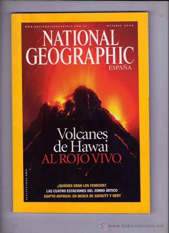 REVISTA NATIONAL GEOGRAPHIC ESPAÑA - OCTUBRE 2004 (Coleccionismo - Revistas y Periódicos Modernos (a partir de 1.940) - Revista National Geographic)