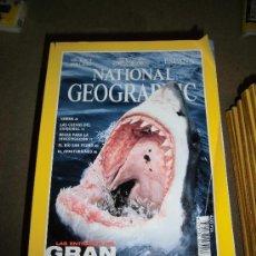 Coleccionismo de National Geographic: REVISTA NATIONAL GEOGRAPHIC ESPAÑOL VOL.6-Nº 4.-ABRIL 2000.-LAS ENTRAÑAS DEL GRAN BLANCO. Lote 35979979