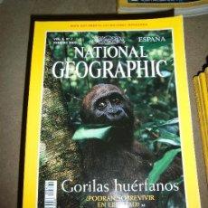 Coleccionismo de National Geographic: REVISTA NATIONAL GEOGRAPHIC ESPAÑOL VOL.6-Nº 2.-FEBRER 2000.-GORILAS HUERFANOS. Lote 35980080