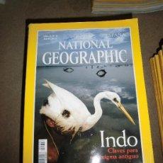 Coleccionismo de National Geographic: REVISTA NATIONAL GEOGRAPHIC ESPAÑOL VOL.6-Nº 6.-JUNIO 2000.-INDO CLAVES PARA UN ENIGMA ANTIGUO. Lote 35980135