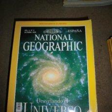 Coleccionismo de National Geographic: REVISTA NATIONAL GEOGRAPHIC ESPAÑOL VOL.5-Nº 4.OCTUBRE 1999.-DESVELANDO EL UNIVERSO NO TIENE EL MAPA. Lote 35980280