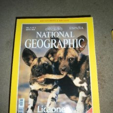 Coleccionismo de National Geographic: REVISTA NATIONAL GEOGRAPHIC ESPAÑOL VOL.4-Nº 5.MAYO 1999.-LICAONES NO TIENE EL MAPA SUPLEMENTO. Lote 35980412