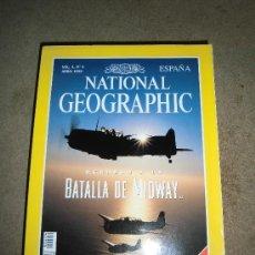 Coleccionismo de National Geographic: REVISTA NATIONAL GEOGRAPHIC ESPAÑOL VOL.4-Nº 4.ABRIL 1999.-REGRESO A LA BATALLA DE MIDWAY. Lote 35980469