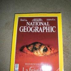 Coleccionismo de National Geographic: REVISTA NATIONAL GEOGRAPHIC ESPAÑOL VOL.4-Nº 2.FEBRE 1999.-BIODIVERSIDAD CON EL MAPA DE LA BIODIVERS. Lote 35980591