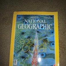 Coleccionismo de National Geographic: REVISTA NATIONAL GEOGRAPHIC ESPAÑOL VOL.4-Nº 1.ENERO 1999.-EDEN DE CORAL. Lote 35980628