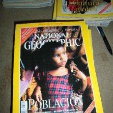Coleccionismo de National Geographic: REVISTA NATIONAL GEOGRAPHIC ESPAÑOL VOL.3-Nº 4.OCTUBRE 1998.-POBLACION MAPA SUPLEMENTO POBLACION. Lote 35980816