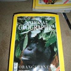 Coleccionismo de National Geographic: REVISTA NATIONAL GEOGRAPHIC ESPAÑOL VOL.3-Nº 2.SAGOSTO 1998.-ORANGUTANES. Lote 35980893
