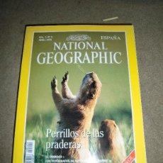 Coleccionismo de National Geographic: REVISTA NATIONAL GEOGRAPHIC ESPAÑOL VOL.2-Nº 4 .ABRIL 1998.-PERRILLOS DE LA PRADERA. Lote 35981112