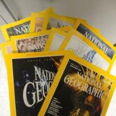 Coleccionismo de National Geographic: LOTE 10 REVISTAS NATIONAL GEOGRAPHIC. Lote 37086462