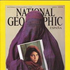 Coleccionismo de National Geographic: NATIONAL GEOGRAPHIC ABRIL 2002 VERSIÓN EN ESPAÑOL.. Lote 37821700