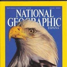 Coleccionismo de National Geographic: NATIONAL GEOGRAPHIC JULIO 2002 VERSIÓN EN ESPAÑOL.. Lote 37832008