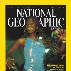 Coleccionismo de National Geographic: NATIONAL GEOGRAPHIC AGOSTO 2002 VERSIÓN EN ESPAÑOL.. Lote 37832078