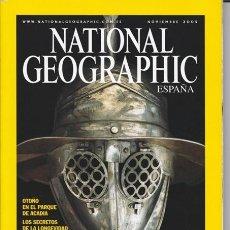 Coleccionismo de National Geographic: NATIONAL GEOGRAPHIC NOVIEMBRE 2005 VERSIÓN EN ESPAÑOL.. Lote 38111814