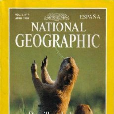 Coleccionismo de National Geographic: REVISTA NATIONAL GEOGRAPHIC Nº 4,ABRIL 1998,PERRILLOS PRADERAS,ORINOCO,AUSTRALIA EN BICI,RONGELAP. Lote 38126219