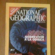 Coleccionismo de National Geographic: NATIONAL GEOGRAPHIC EN ESPAÑOL. VOL. 8 N° 1. ENERO 2001. . Lote 38376408