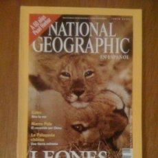 Coleccionismo de National Geographic: NATIONAL GEOGRAPHIC VOL. 8 N° 6 (EN ESPAÑOL). JUNIO 2001. Lote 38451688
