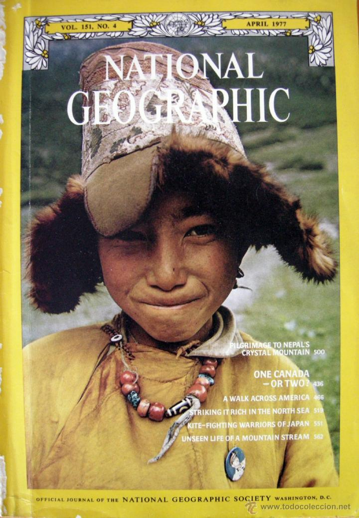 Coleccionismo de National Geographic: National Geographic. Vol. 151, No. 4. April 1977 - Foto 1 - 39687608