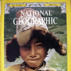 Coleccionismo de National Geographic: NATIONAL GEOGRAPHIC. VOL. 151, NO. 4. APRIL 1977. Lote 39687608