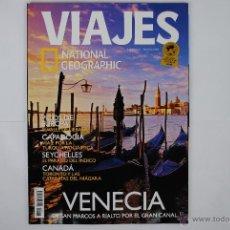 """Coleccionismo de National Geographic: REVISTA """"VIAJES"""" Nº 76. NATIONAL GEOGRAPHIC. VENECIA, PICOS DE EUROPA, CAPADOCIA, SEYCHELLES, CANADÁ. Lote 40630837"""