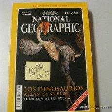 Coleccionismo de National Geographic: LOS DINOSAURIOS ALZAN EL VUELO. EL ORIGEN DE LAS AVESNATIONAL GEOGRPHIC ESPAÑA19982,00. Lote 42211907