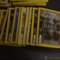 Coleccionismo de National Geographic: LOTE DE 11 REVISTAS NATIONAL GEOGRAPHIC AÑO 2002. Lote 42294683