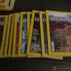 Coleccionismo de National Geographic: LOTE DE 10 REVISTAS NATIONAL GEOGRAPHIC AÑO 2003. Lote 42294713