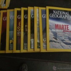 Coleccionismo de National Geographic: LOTE DE 10 REVISTAS NATIONAL GEOGRAPHIC AÑO 2004. Lote 42294740