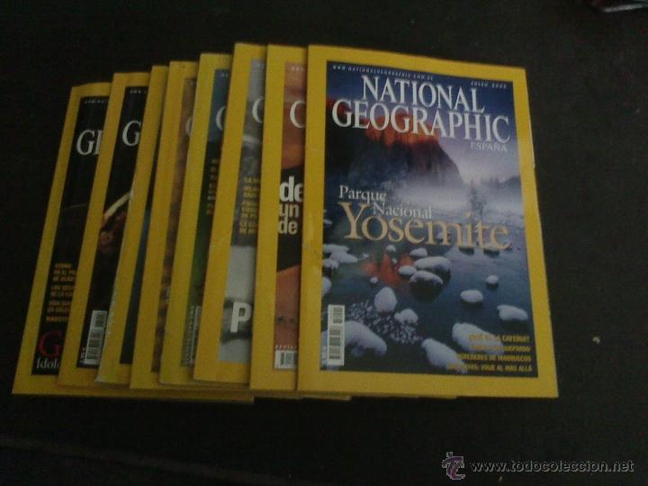 Coleccionismo de National Geographic: lote de 8 revistas national geographic año 2005 - Foto 1 - 59667984