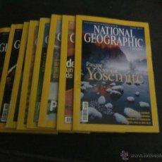 Coleccionismo de National Geographic: LOTE DE 8 REVISTAS NATIONAL GEOGRAPHIC AÑO 2005. Lote 59667984
