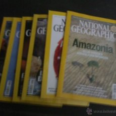 Coleccionismo de National Geographic: LOTE DE 6 REVISTAS NATIONAL GEOGRAPHIC AÑO 2007. Lote 42294837