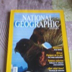 Coleccionismo de National Geographic: NATIONAL GEOGRAPHIC ESPAÑA. MORSAS. SEPTIEMBRE 2001. B4R. Lote 44150583
