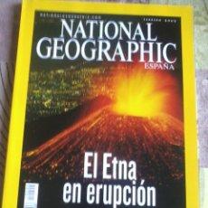 Coleccionismo de National Geographic: NATIONAL GEOGRAPHIC ESPAÑA. EL ETNA EN ERUPCIÓN. FEBRERO 2002. B4R. Lote 44151152