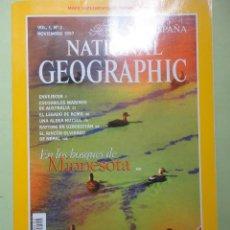 Coleccionismo de National Geographic: NATIONAL GEOGRAPHIC. NOVIEMBRE 1997. BOSQUES DE MINNESOTA. Lote 44411168