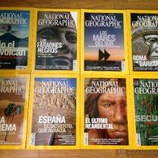 Coleccionismo de National Geographic: LOTE NATIONAL GEOGRAPHIC ESPAÑOLA 2008. Lote 44683946