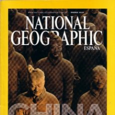Coleccionismo de National Geographic: REVISTA NATIONAL GEOGRAPHIC - ENERO 2010 - CHINA. Lote 44915008