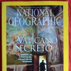 Coleccionismo de National Geographic: NATIONAL GEOGRAPHIC - JUNIO 2012 - VOL 30 N.6 - VATICANO SECRETO - SOLDADOS DE TERRACOTA - SOCOTORA. Lote 44919612