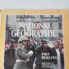 Coleccionismo de National Geographic: REVISTA NATIONAL GEOGRAPHIC. ENERO 1982. DOS BERLINES. Lote 44927875