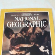 Coleccionismo de National Geographic: REVISTA NATIONAL GEOGRAPHIC. MAYO 1999. INCLUYE PLANO DESPLEGABLE. Lote 44928155