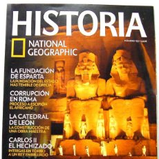Coleccionismo de National Geographic: REVISTA HISTORIA NATIONAL GEOGRAPHIC- EGIPTO ABU SIMBEL-LA FUNDACION DE ESPARTA-CORRUPCION EN ROMA-L. Lote 45494041
